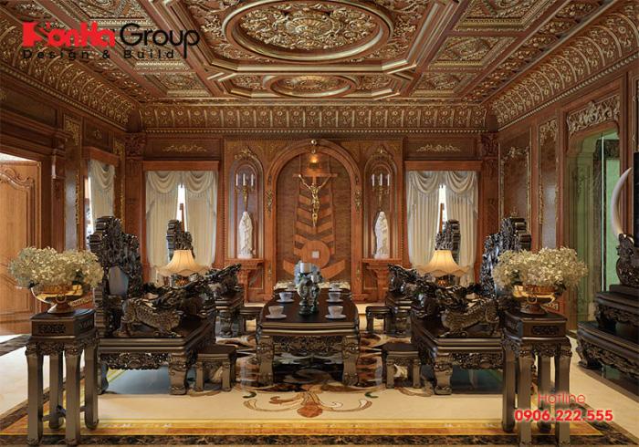 Xu hướng hiện đại, đồ nội thất gỗ cho phòng khách đã được cách tân và tạo nhiều kiểu dáng đa dạng, mới mẻ hơn
