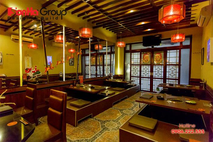 Xu hướng thiết kế nhà hàng Nhật Bản tại Việt Nam có nhiều thay đổi