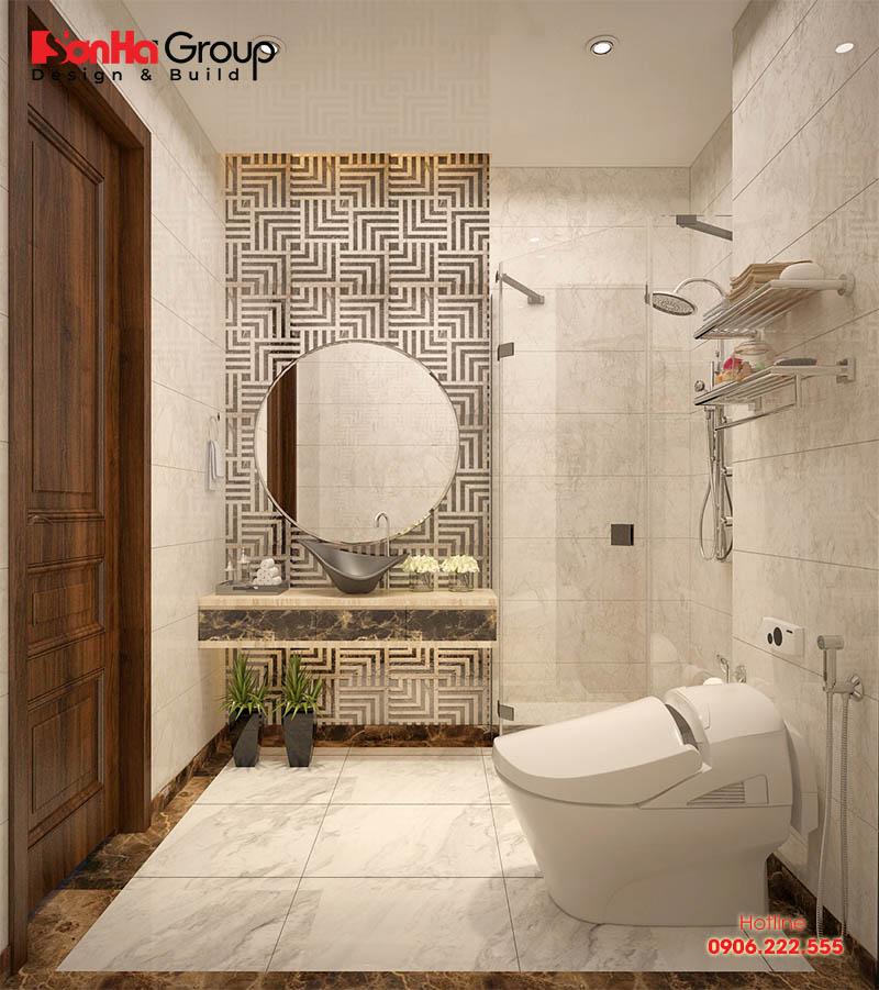 Ý tưởng bái trí nội thất toilet hiện đại đẹp và phong thủy trên diện tích sàn chỉ 2m2
