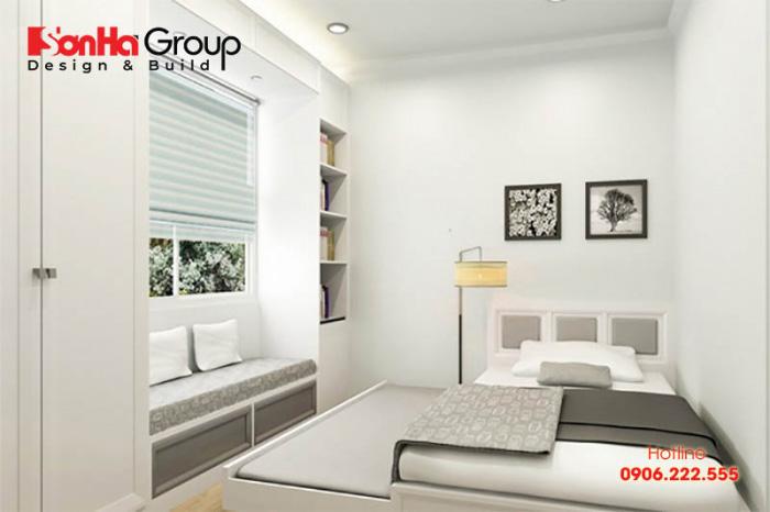 Ý tưởng bày trí nội thất phòng ngủ 7m2 đẹp, hiện đại và ngăn nắp