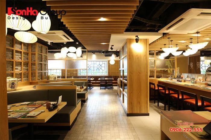 Ý tưởng thiết kế nhà hàng Nhật Bản giúp kinh doanh tiền vào như nước