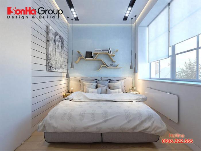 Ý tưởng thiết kế phòng ngủ đẹp 12m2 cho nhà chung cư với nội thất hiện đại