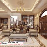 1 Thiết kế nội thất phòng khách biệt thự khu đô thị vinhomes imperial vhi 0006