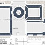 12 Bản vẽ tầng mái biệt thự lâu đài cổ điển pháp tại long an sh btld 0041