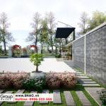 14 Bố trí tiểu cảnh sân vườn biệt thự khu đô thị vinhomes imperial vhi 0006