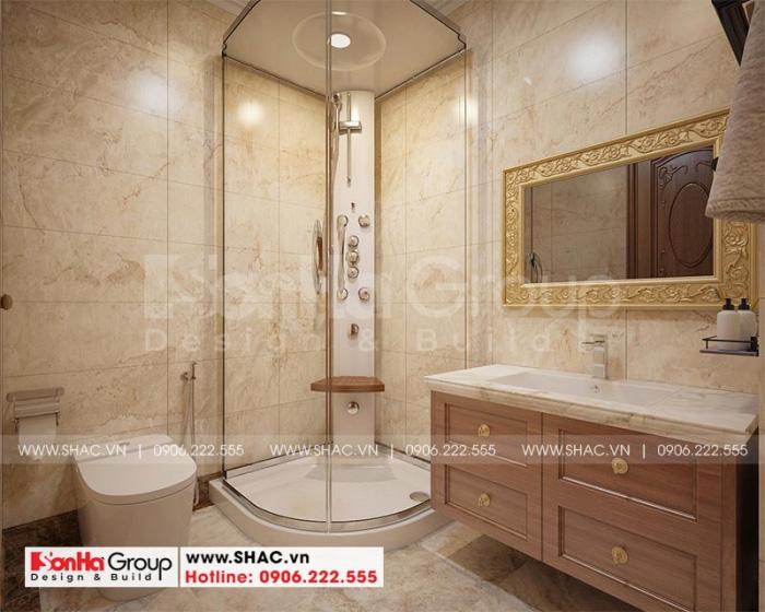 Mẫu thiết kế phòng tắm và nhà vệ sinh tiện nghi
