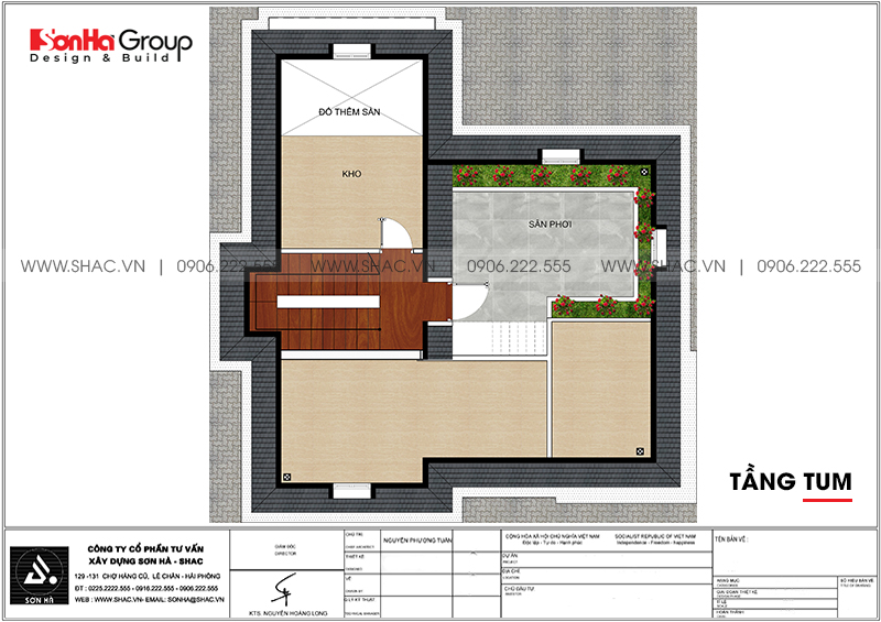 Không gian nội thất xa hoa biệt thự tân cổ điển 10,12x12,32m Vinhomes Imperia 19