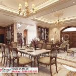 2 Mẫu nội thất phòng bếp ăn biệt thự khu đô thị vinhomes imperial vhi 0006