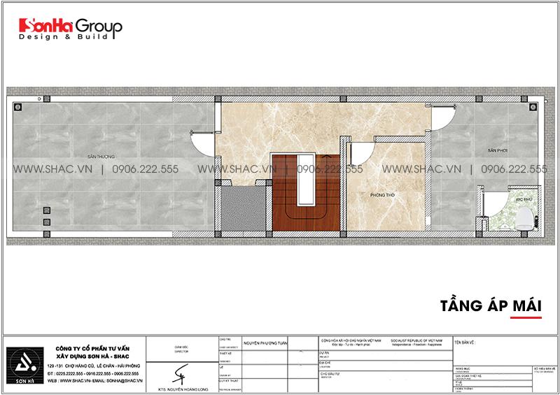 [Mãn nhãn] Mẫu thiết kế nội thất nhà phố kết hợp văn phòng làm việc tại Hải Phòng 20