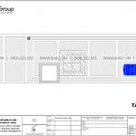 21 Bản vẽ tầng mái nhà ống hiện đại kết hợp văn phòng tại hải phòng