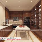 3 Không gian nội thất phòng bếp ăn biệt thự khu đô thị vinhomes imperial vhi 0006