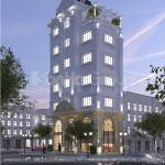 3 Kiến trúc tòa nhà văn phòng 6 tầng tại hà nội sh vp 0038