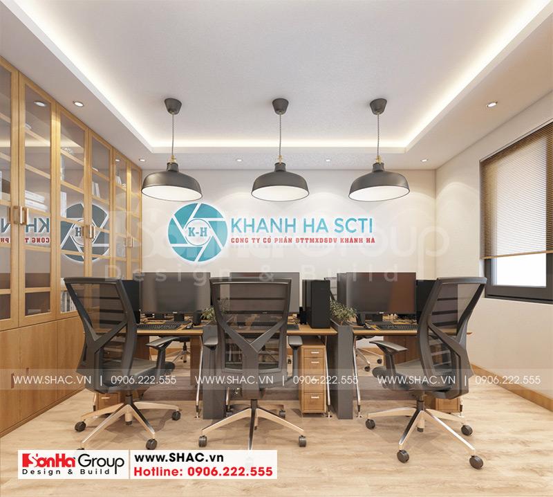[Mãn nhãn] Mẫu thiết kế nội thất nhà phố kết hợp văn phòng làm việc tại Hải Phòng 3