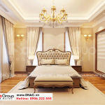 4 Trang trí nội thất phòng ngủ master 1 biệt thự khu đô thị vinhomes imperial vhi 0006