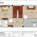 7 Bản vẽ tầng 4 nhà ống tân cổ điển đẹp tại hải phòng sh nop 0202