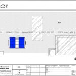 8 Mặt bằng tầng mái nhà ống tân cổ điển 4 tầng tại hải phòng sh nop 0202