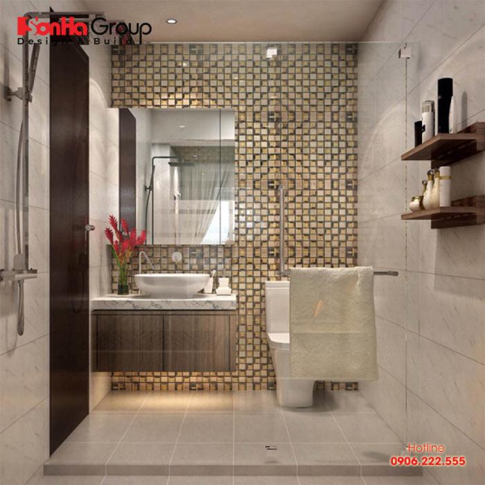 Các mẫu phòng tắm nhỏ đẹp dù không sở hữu diện tích lý tưởng nhưng vẫn đáp ứng được công năng sinh hoạt thoải mái cho chủ nhân