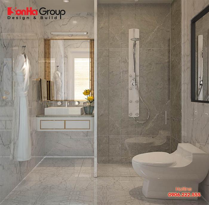 Cách bày trí nội thất phòng tắm đẹp và khoa học cho phòng ngủ nhỏ xinh với chi phí đầu tư hợp lý