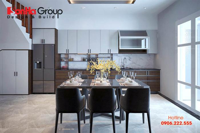 Chiêm ngưỡng cách sắp xếp nội thất nhà bếp đơn giản chi phí tiết kiệm với kiểu dáng hợp thời hiện nay