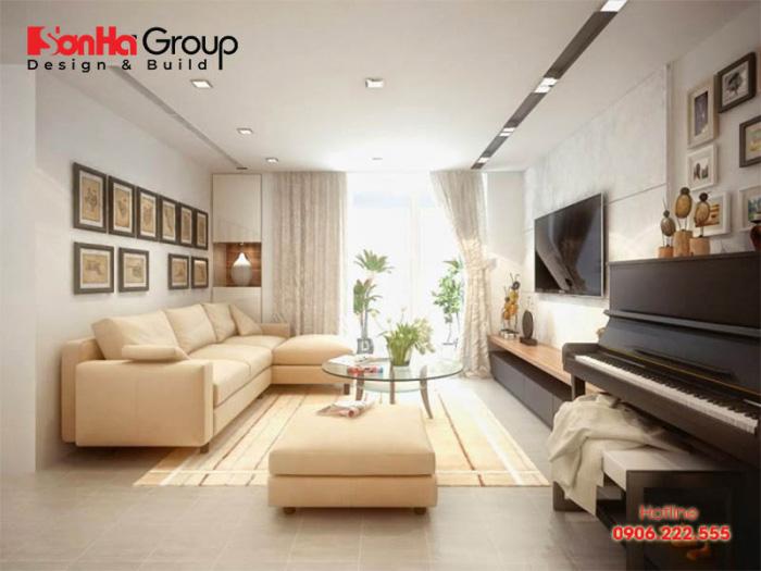 Hãy sử dụng những bộ sofa hay màu sơn tường tông cam, vàng, nâu, be để tạo cảm giác ấm cúng cho căn phòng
