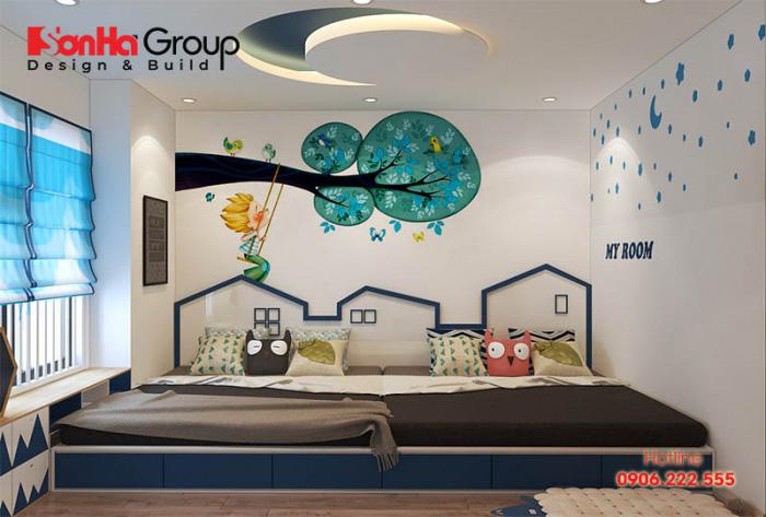 Hướng phòng ngủ tốt nhất cho bé trai là hướng Đông còn bé gái thì nên là hướng Nam hoặc Đông Nam