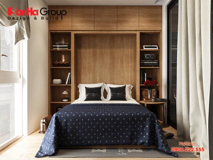 Thiết kế phòng khách liền phòng ngủ như thế nào cho hợp lý? 2