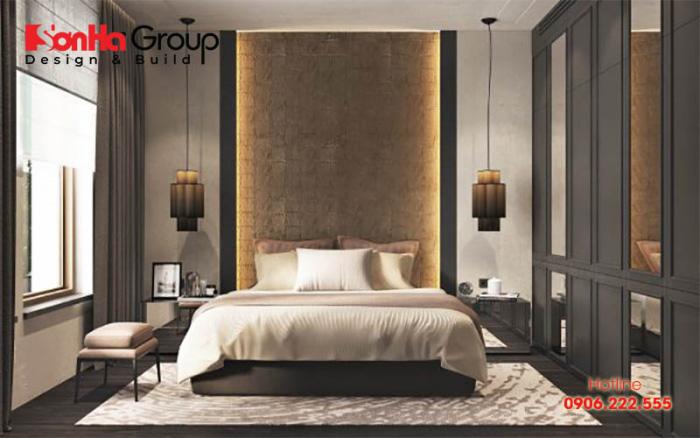 Mẫu thiết kế phòng ngủ rẻ đẹp tiết kiệm với hơi hướng hiện đại, lịch lãm và đúng sở thích mà chủ nhân đề ra
