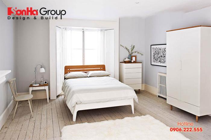 Người tuổi Bính Tý phòng ngủ nên chọn sơn màu trắng thuộc hành Kim