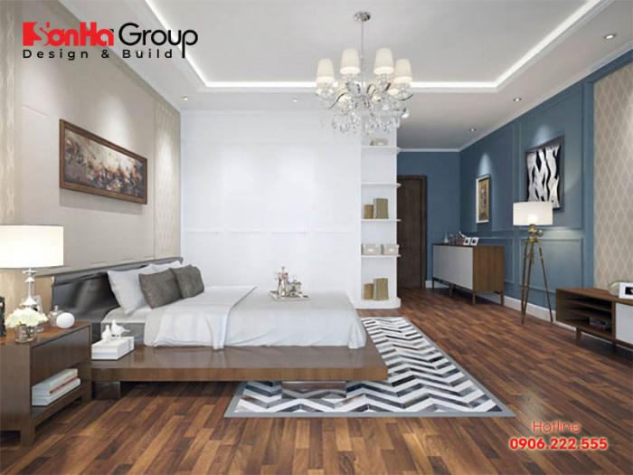 Nội thất gỗ tự nhiên lại mang đến một không phòng ngủ gian thoải mái, thư thái cũng sẽ cho bạn những trải nghiệm vô cùng tuyệt vời