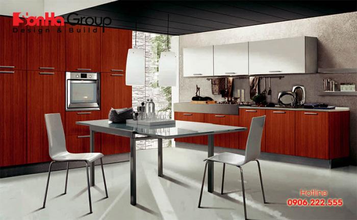20+ Không gian bếp đẹp cho nhà ống hiện đại lại tiết kiệm chi phí 3