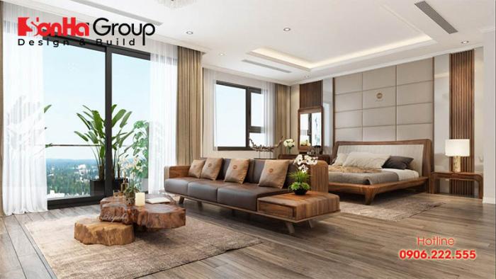 Thiết kế phòng khách liền phòng ngủ như thế nào cho hợp lý