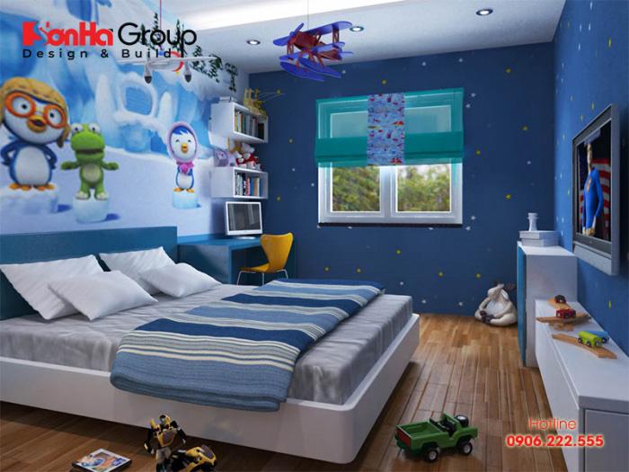 Thiết kế phòng ngủ 11m2 đẹp, mới lạ cho trẻ em