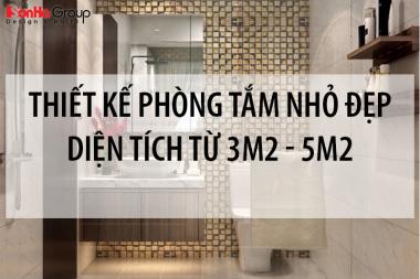 Thiết kế phòng tắm nhỏ đẹp diện tích sử dụng chỉ từ 3m2 đến 5m2 8