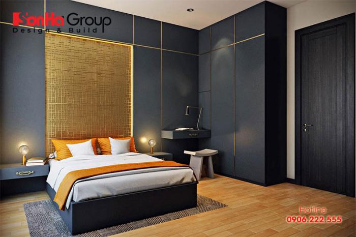 Xu hướng thiết kế phòng ngủ hiện đại có lối bày trí giản đơn nhưng vô cùng hấp dẫn và tinh tế