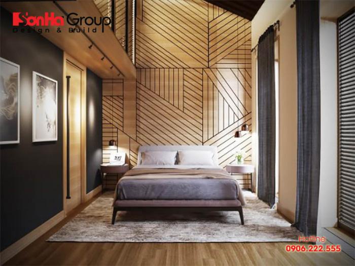 Ý tưởng trang trí nội thất phòng ngủ hiện đại độc đáo thể hiện cá tính riêng biệt của chủ nhân căn phòng