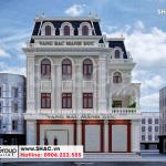 1 Thiết kế biệt thự tân cổ điển đẹp tại hải phòng sh btp 0149