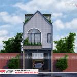 1 Thiết kế nhà ống hiện đại đẹp tại hải phòng sh nod 0213