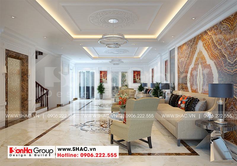 Mẫu tòa nhà văn phòng kiểu tân cổ điển diện tích 9,15m x 21,08m tại Sài Gòn - SH VP 0039 12