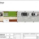 12 Mặt bằng tầng 1 nhà ống hiện đại 3 tầng tại hải phòng sh nod 0213