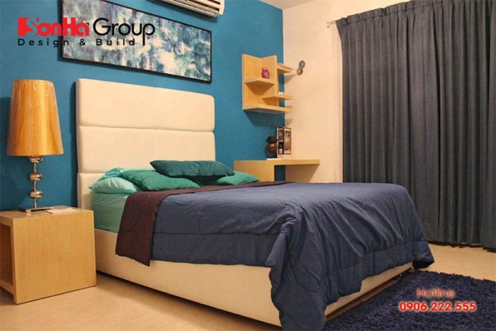 Cách phối màu và lựa chọn vật dụng theo phong cách retro giúp không gian phòng ngủ luôn cuốn hút bất cứ ai