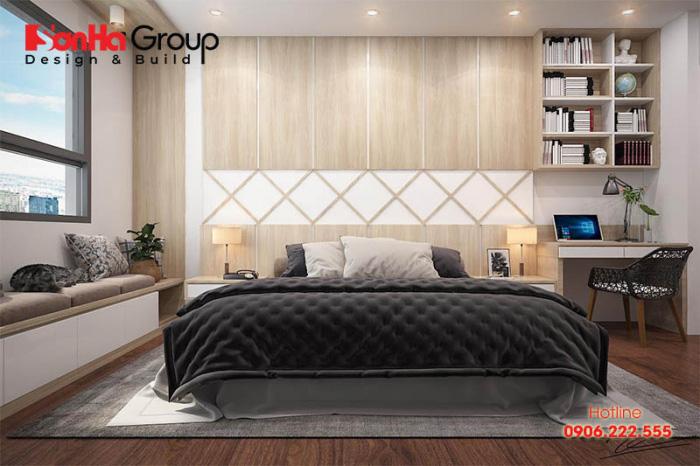 Cách trang trí phòng ngủ chung cư đẹp phù hợp với mọi lứa tuổi