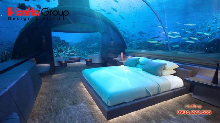 Căn phòng ngủ đẹp nhất thế giới này được thiết kế vô cùng hiện đại và tinh tế