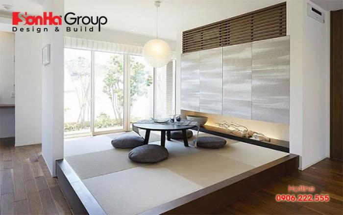 Chiêm ngưỡng không gian phòng khách ngồi biệt đơn giản nhưng hiện đại hợp thời