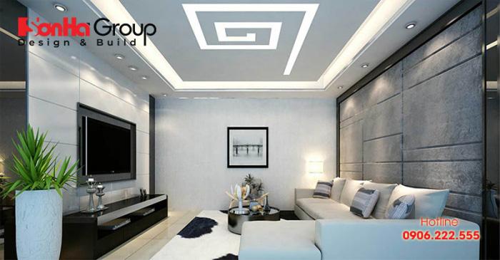 Giải pháp tốt nhất để khiến căn phòng khách ngập tràn ánh sáng là bố trí đèn điện