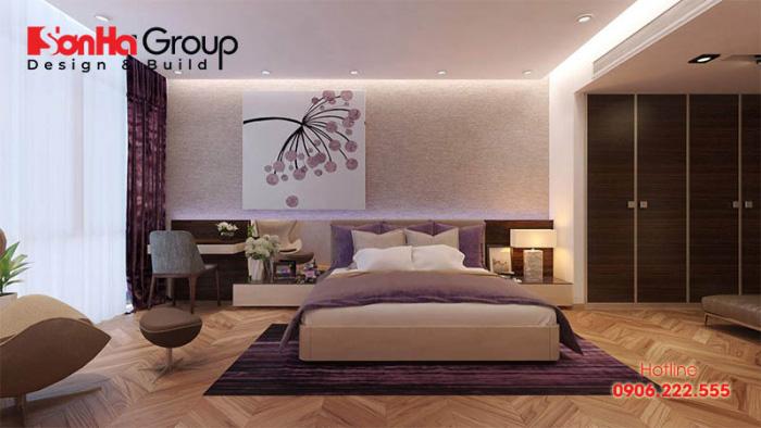 Gỗ công nghiệp luôn là vật liệu được ưu tiên số 1 trong thiết kế thi công nội thất phòng ngủ hiện đại