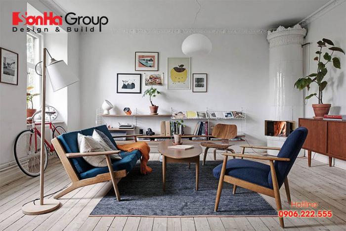 Khi lựa chọn bàn ghế để trang trí phòng khách vintage bạn cần lưu ý, cân nhắc đến một số yếu tố như màu sắc, chất liệu, kích thước