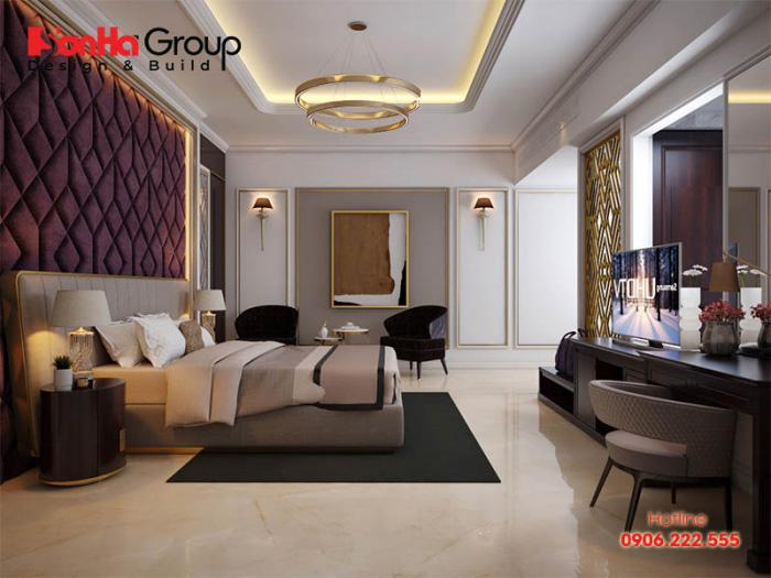 Màu sắc giường ngủ phải phù hợp và đồng bộ với phong cách của phòng ngủ
