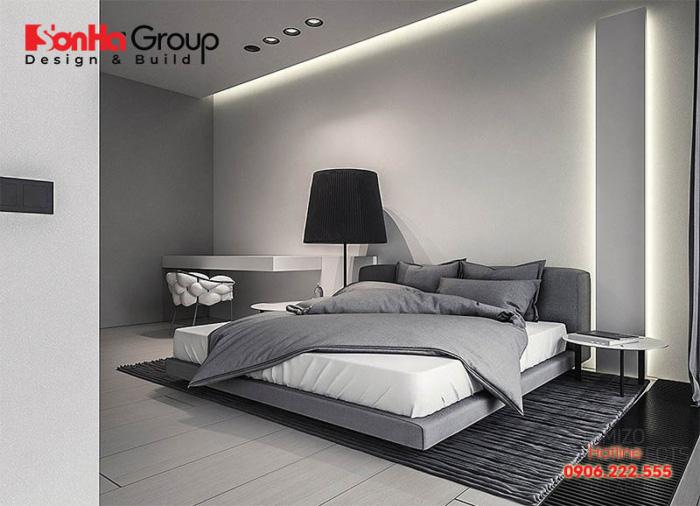 Màu sắc rất quan trọng trong thiết kế nội thất phòng ngủ hiện đại