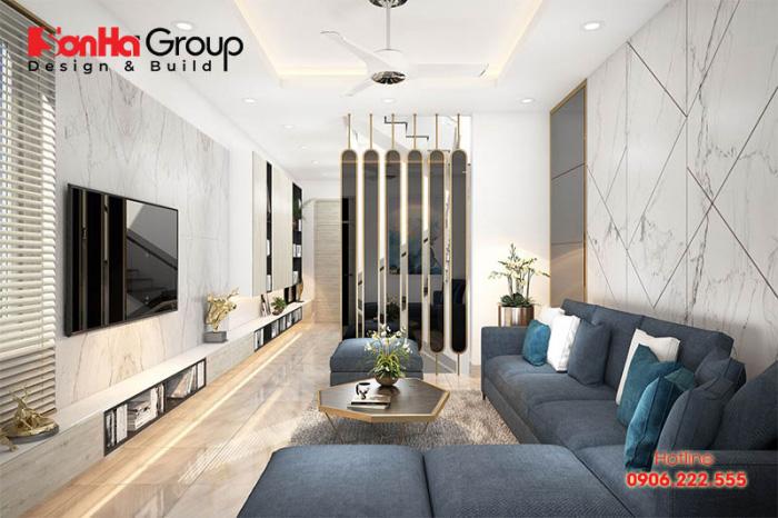 Màu sơn sang luôn bí kíp ăn gian diện tích hiệu quả nhất cho căn phòng khách nhỏ