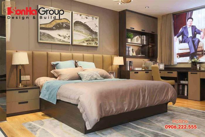 Mẫu thiết kế phòng ngủ mang đậm phong cách Hàn Quốc với nội thất mềm mại
